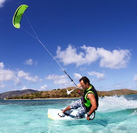 2013 Cabrinha Crossbow LW Kiteboard Kite and Cabrinha Stylus kiteboard